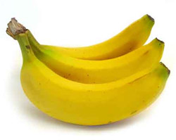 Tryptophan kommt in natürlicher Form, wenn auch nur in geringen Mengen, unter anderem in Bananen vor.